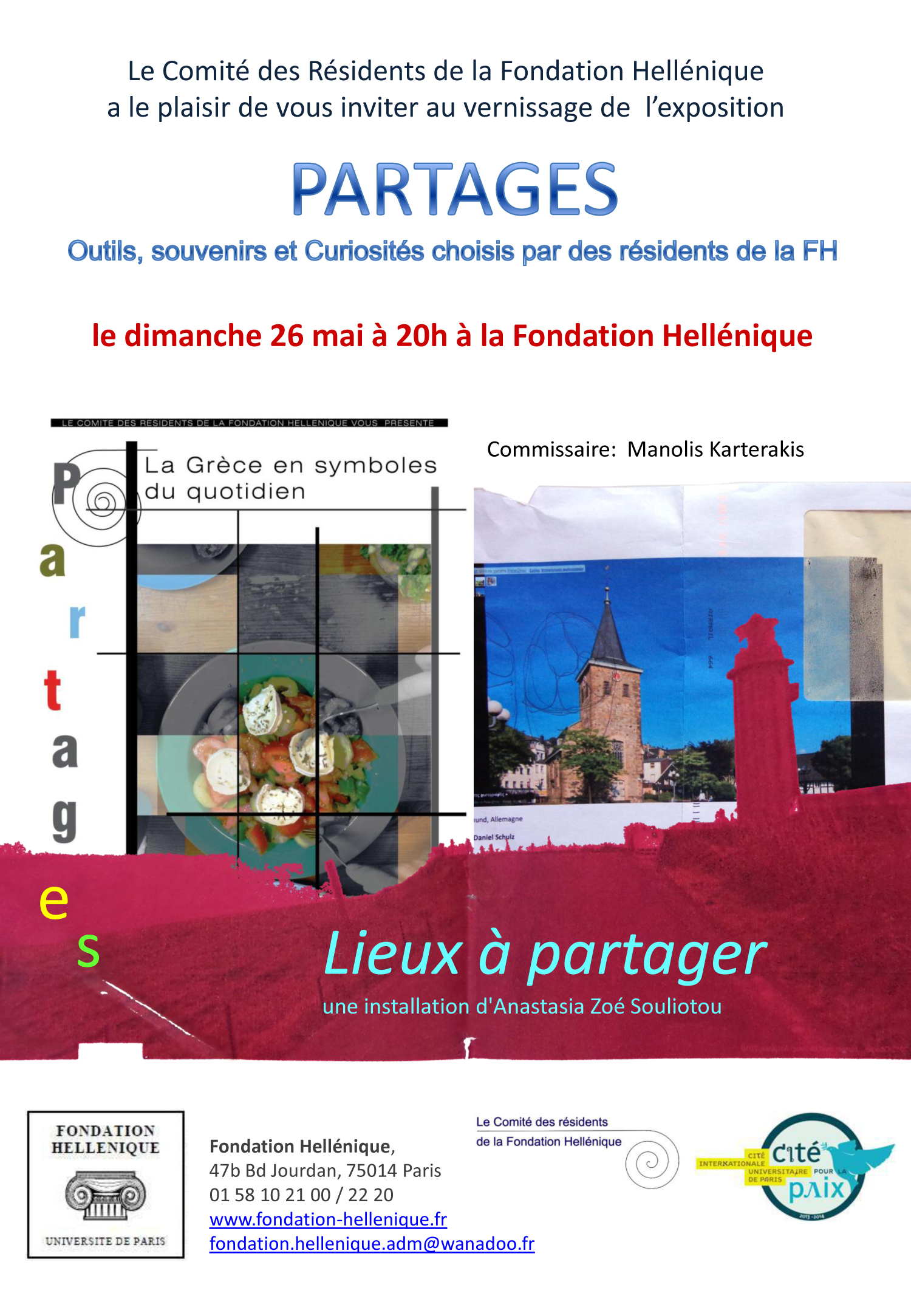 EXPOSITION « PARTAGES »