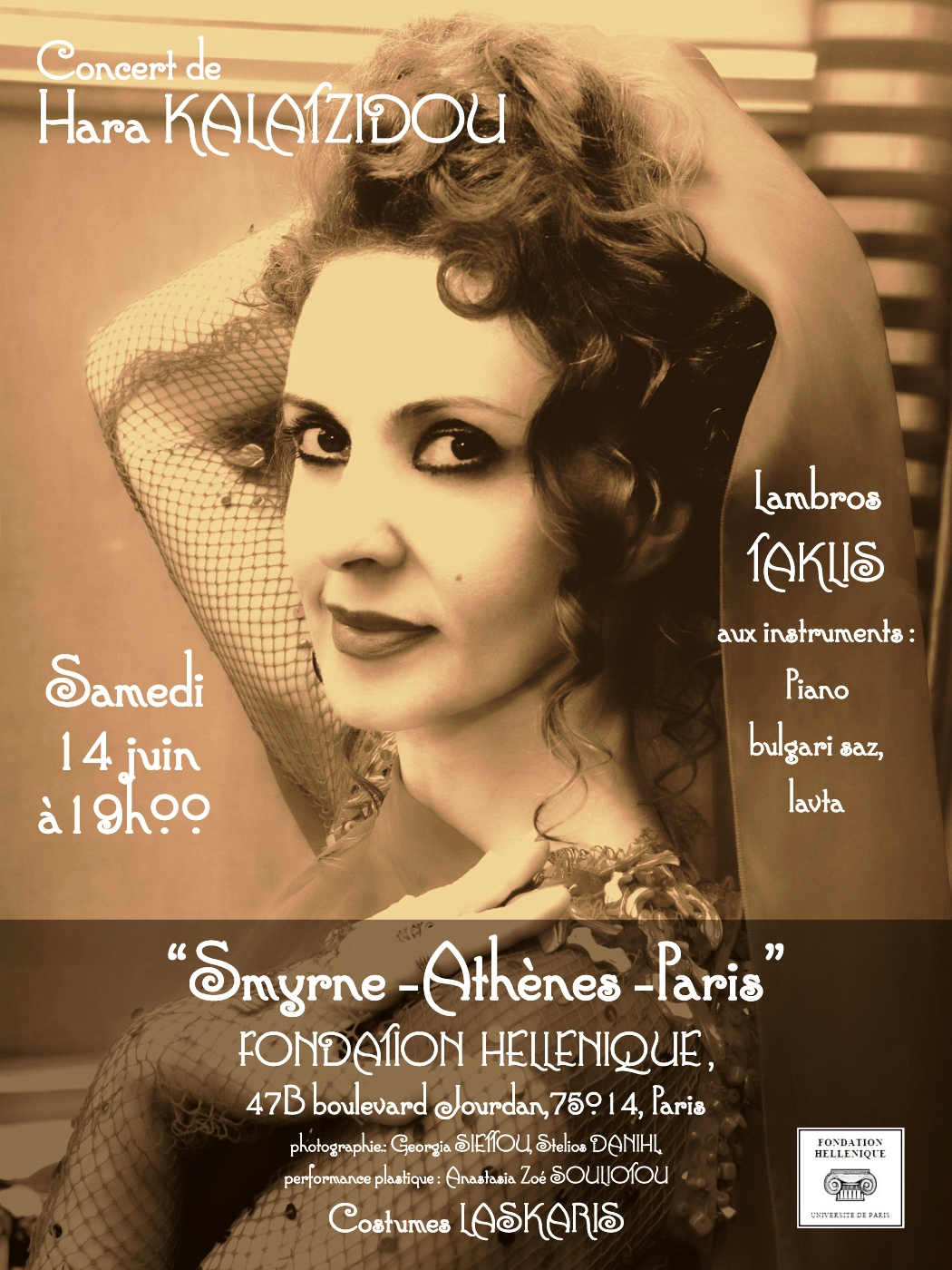Concert InvitationConcert « Smyrne-Athènes-Paris » 14 juin 2014