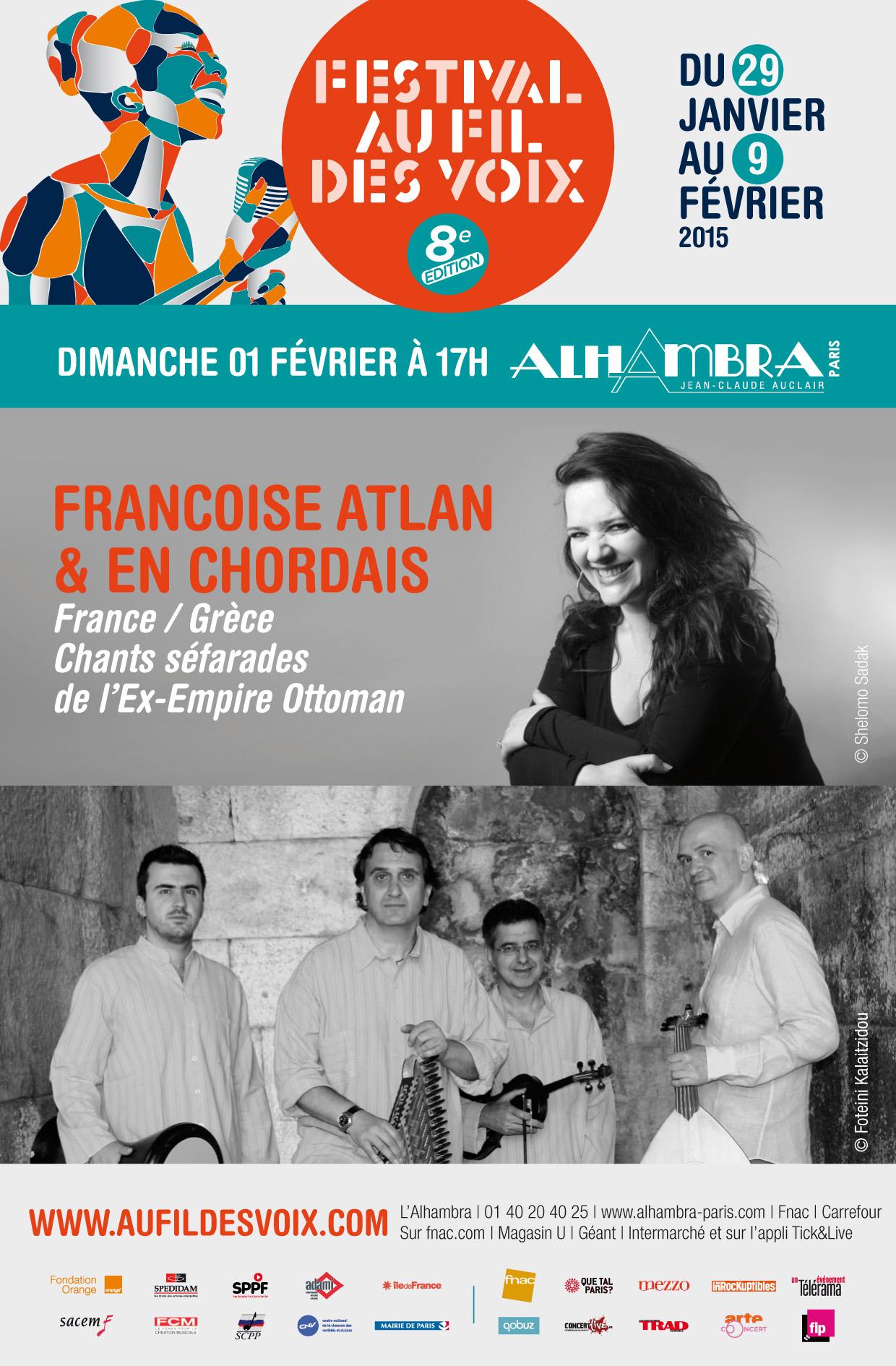 Françoise Atlan & En Chordais à l'Alhambra
