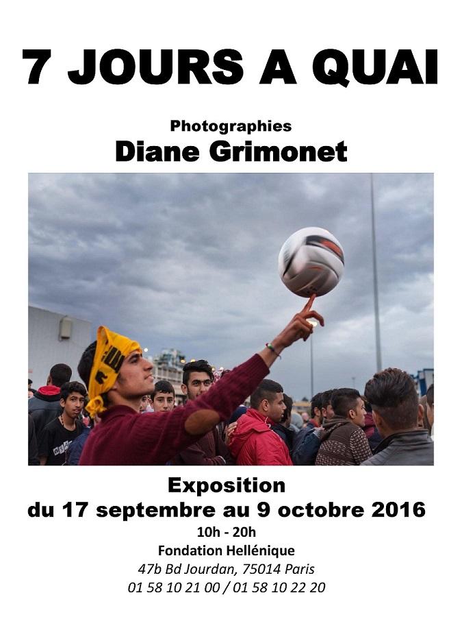 Diane Grimonet: 7 jours à Quai