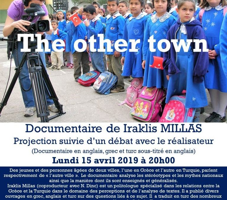 Projection du documentaire «The other town» suivi du débat avec le réalisateur, Lundi 15 Avril 2019, 20h00
